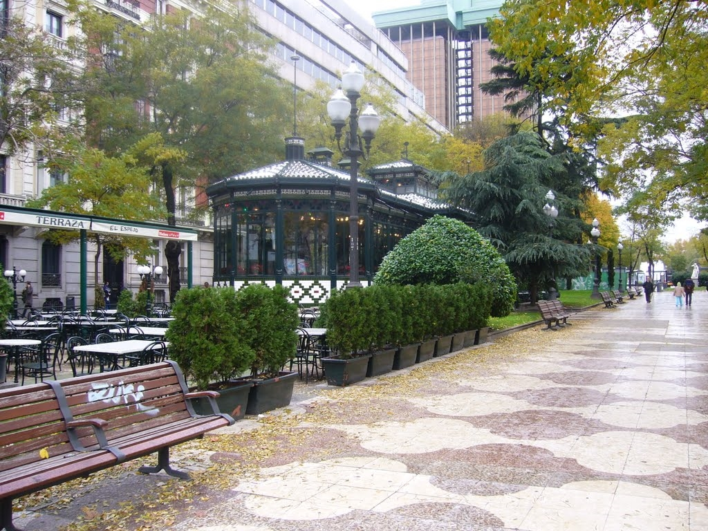 Paseo De Recoletos In Madrid Areas Quarters In Spain